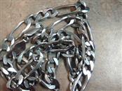 """20"""" Silver Figaro Chain 925 Silver 30.4g"""